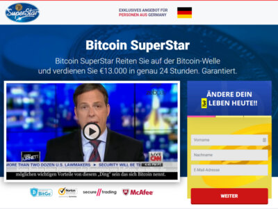 Bitcoin Superstar Website: A Chance To Start Earning More & Constantly